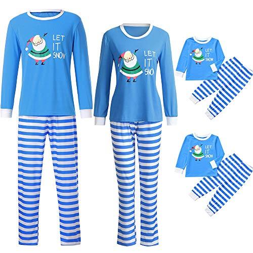 Matching Family Pajamas Christmas Duseedik Men Dad Boys Family Papa Indoor Shirt Pants 2Pcs Sleep -