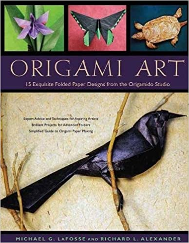 Book Origami Art: 15 Exquisite Folded Paper Designs from the Origamido Studio: Intermediate and Advanced Projects: Origami Book with 15 Projects