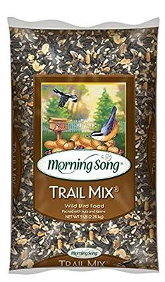 Morning Song 12004 Trail Mix Wild Bird Food, 5-Pound