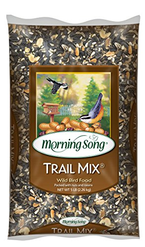 Morning Song 12004 Trail Mix Wild Bird Food, 5-Pound ()