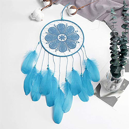 Amazon.com: Chitop Indian Style Dreamcatcher Handmade - Wind Chimes Hanging Pendant Dream Catcher - Home Wall Art Hangings Decorations (02): Home & Kitchen