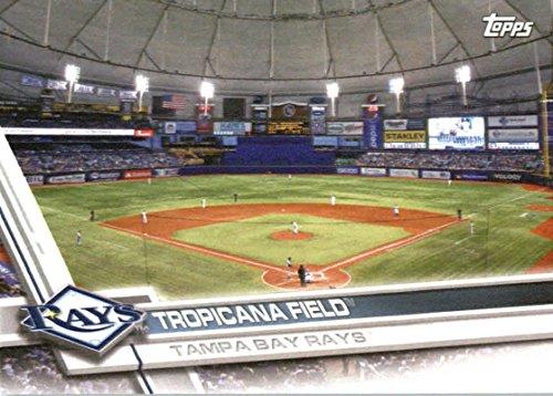 2017 Topps Team Edition Baseball Card#TB-5 Tropicana Field Tampa Bay Rays Baseball Card