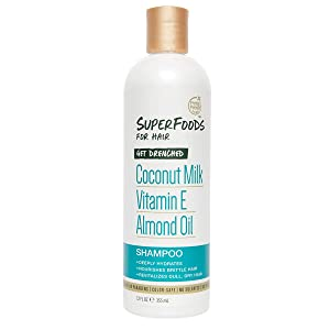 Petal Fresh SuperFoods Get Drenched Shampoo (Coconut Milk, Vitamin E & Almond Oil) | SuperFoods Beauty