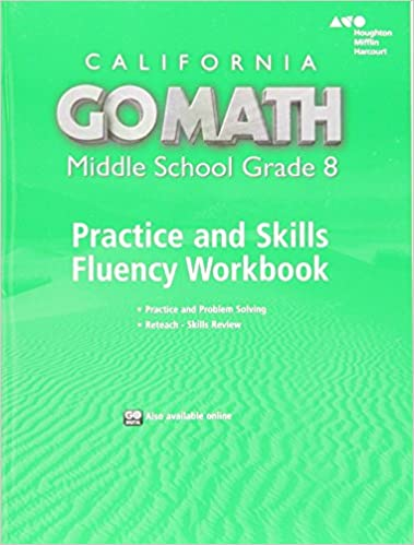 Go math california practice fluency workbook grade 8 holt california practice fluency workbook grade 8 1st edition fandeluxe Gallery