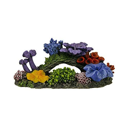 Blue Ribbon Small Hawaiian Reef Exotic Environments Aquarium Ornament