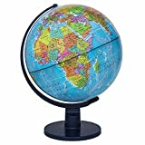"""Waypoint Geographic Scout World Globe- Great Quality Globe For Kids & Teachers- More Than 4,000 Name Places- Great Color & Unique Construction- Up-To-Date World Globe- Geography Globe With Stand- 12"""""""