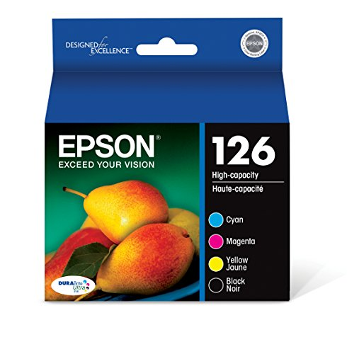 Epson - 126 4-pack Ink Cartridges - Black/cyan/magenta/yello