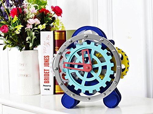SevenUp Gear Clock-Premium Plastic and Metal Parts Material 5