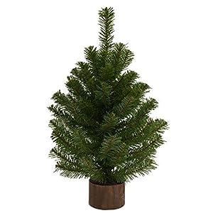 2' Green Jefferson Tabletop Artificial Christmas Tree 36