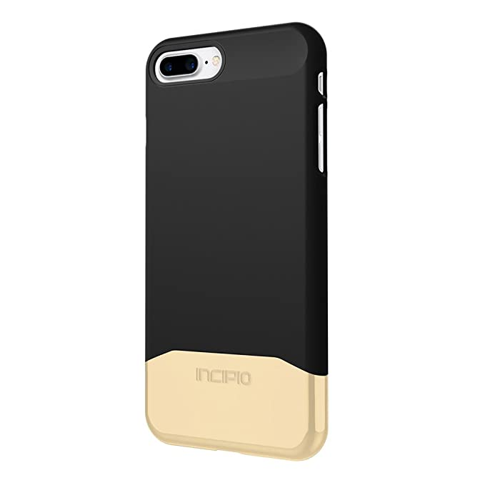 new product b9732 a1a10 iPhone 7 Plus Case, Incipio Edge Chrome [Shock Absorbing] Slider Cover fits  Apple iPhone 7 Plus - Black/Black