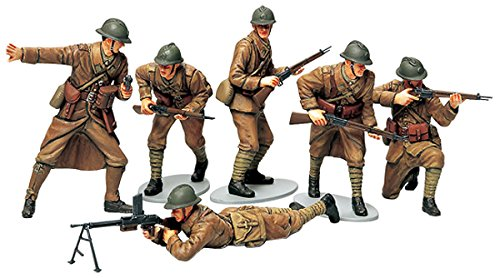 Tamiya Models French Infantry (Toy Soldiers Infantry Set)