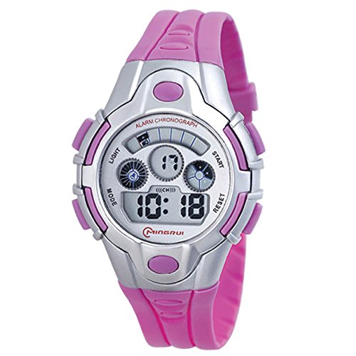 Halumi Digital Sport Outdoor Kids Chronograph Watches for Girls by Halumi