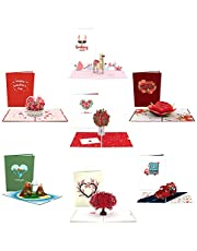 Lovepop Valentine's Day Pop Up Cards - 3D Cards, Valentines Day Cards, Valentine Day Pop Up Cards, Anniversay Cards, 3D Valentines Day Cards, Romance Cards, Card for Wife, Card for Husband