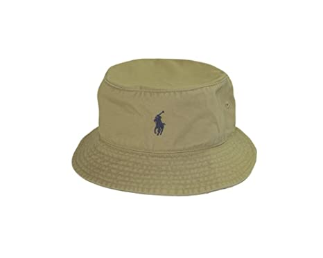 Polo Ralph Lauren Mesh Bucket Hat - Khaki (L/XL)