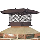 13X13 DRAFT KING STAINLESS STEEL PAINTED CHIMNEY CAP