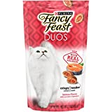 Purina Fancy Feast Duos Salmon Flavor With Accents of Parsley Adult Cat Treats - (10) 2.1 oz. Pouches