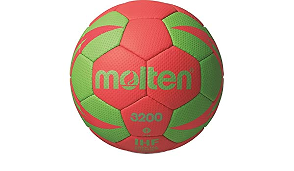 MOLTEN Handball - Pelota de Balonmano, Color Multicolor, Talla 2 ...