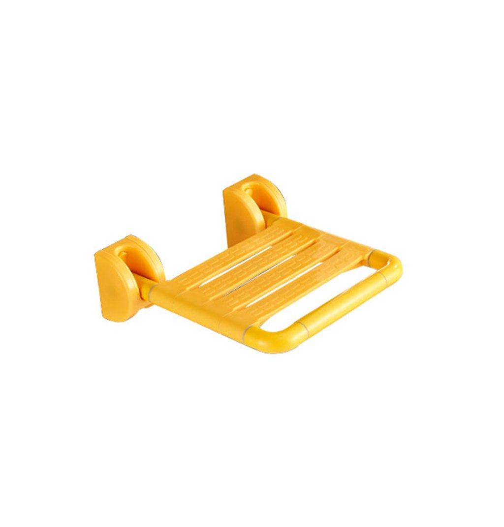 バスチェア、折り畳み式老人シャワーチェア妊婦バスチェアバスルームプラスチック製バスチェア B0787NMCCN