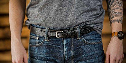 Hanks-Ranger-Belt-15-Mens-Leather-Casual-Belt-USA-Made-100-Year-Warranty