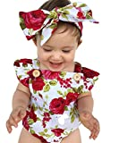 Newborn Kids Baby Girls Clothes Floral Outfits