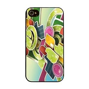 Diabloskinz H 0026-0007-0017 Multicolor carcasa rígida para Apple iPhone 4/4S
