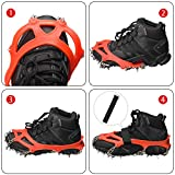 Crampons Ice Cleats Traction Snow Grips for Shoes