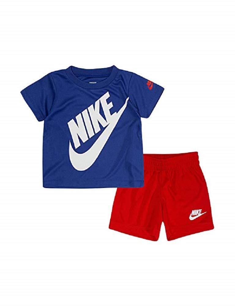 Nike Boys 2-Piece Big Futura T-Shirt and Short Set (5)