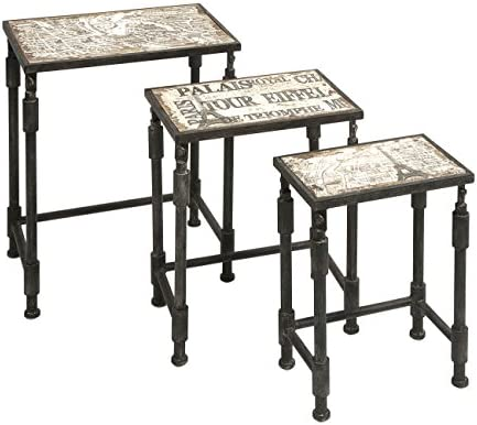 IMAX Knoxlin Nesting Tables, Set of 3