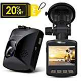 Dash Cam - ARTSEA 170° Wide Angle View 1920x1080P 2.0 Screen Mini Car Camera with Parking Monitor Loop Record Impact Sensor