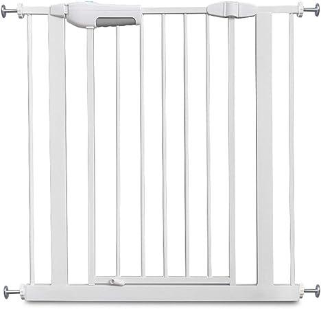 LLAAYY Barandillas para Camas Puerta De Seguridad De Metal Extensible, Escalera 2 En 1 y Puerta