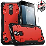 LG K20 Plus Case, Zizo Proton 2.0 Cover [Military Grade Drop Tested] w/ 0.3m 9H [Tempered Glass Screen Protector] - LG Harmony