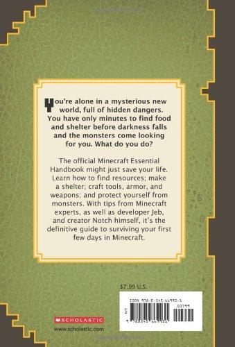 Minecraft Essential Handbook An Official Mojang Book Stephanie