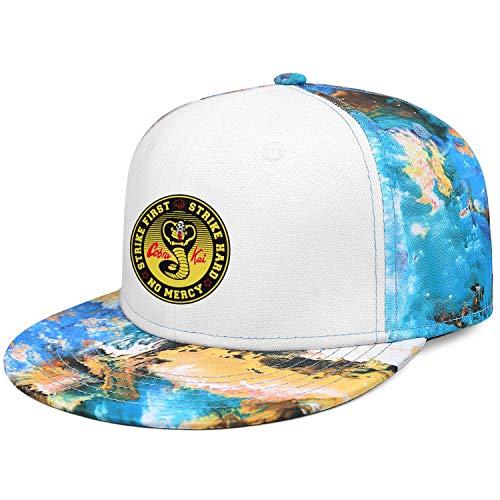 Unisex Man's Womens Caps Cobra-Kai-Karate-Kid-Snake-Logo- Trendy Running Caps Hat