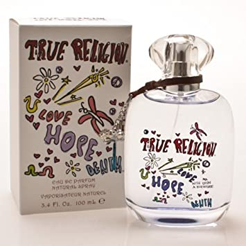 TRUE RELIGION LOVE by True Religion 3.4 oz EDP Spray NEW in Box for Women