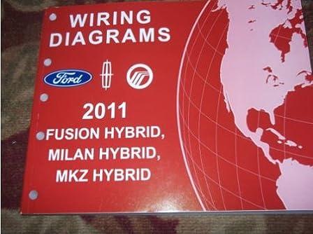 2011 ford fusion lincoln mkz mercury milan hybrid wiring diagram 2002 mercury grand marquis wiring diagram 2011 ford fusion lincoln mkz mercury milan hybrid wiring diagram service manual paperback 2011
