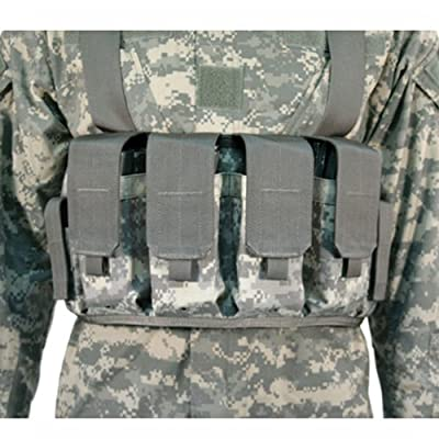 BLACKHAWK! Coyote Tan Chest Magazine Pouches - M16/M4