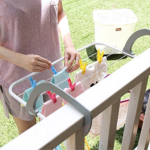 ADSRO Foldable Drying Rack Easy Instal Drying Rack Indoor/Outdoor