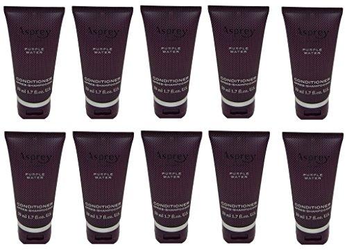 Asprey Purple Water Conditioner lot of 10 each 1.7oz bottles. Total of 17oz -