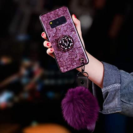 Cellphones & Telecommunications Rhinestone Cases Humorous Kickstand Fur Ball Soft Shockproof Tpu Tpe Cover Case For Samsung J7 Note 9 Phone Cases