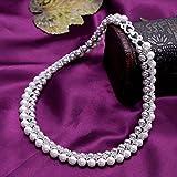 Rakumi Sterling Silver AAAA White Freshwater Pearl Studs Earrings