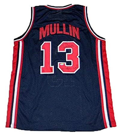 687bfa3b238 Autographed Chris Mullin Jersey - Dream Team Usa  13 - Tristar Productions  Certified - Autographed