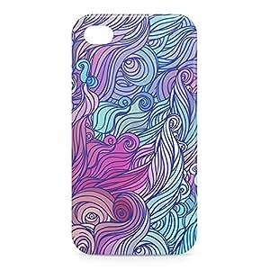 Hairs iPhone 4s 3D wrap around Case - Design 6
