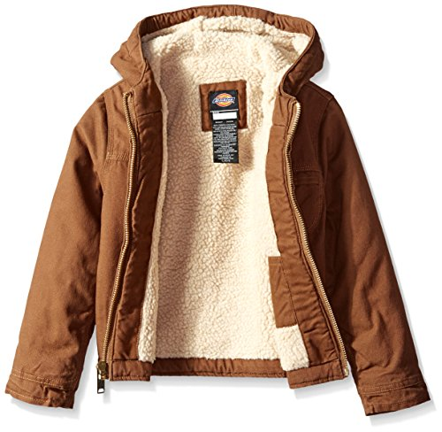 bbef33815 Amazon.com: Dickies Boys' Sherpa Lined Duck Jacket: Clothing