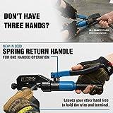 TEMCo Hydraulic Lug Crimper Tool TH1818 DIELESS