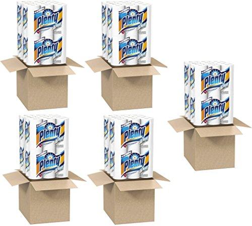 Plenty Ultra Premium Full Sheet Paper Towels, White, 24 Rolls (5 Pack) by Plenty (Image #1)'