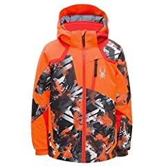 A best-seller, the Leader Jacket is designed for grom just starting out on the slopes. A lightweight, but warm insulation will keep your child comfortable in any condition and the 10k water proof rating ensures they won't get soaked on wet da...