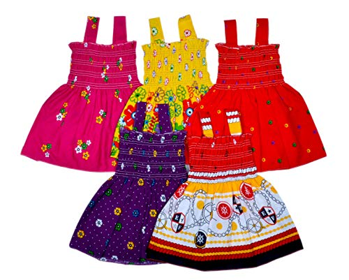 Sathiyas Baby Girls' Knee Length Dress