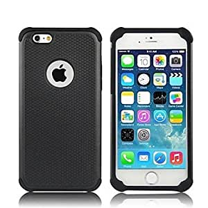 YULIN 2-in-1 Hybrid Shockproof PC Hard Case with Silicone Inside Cover for iPhone 6 (Assorted Colors) , Gray