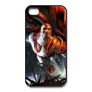 iPhone 4 4s Cell Phone Case Black kratos god of war Popular games image WOK1029255