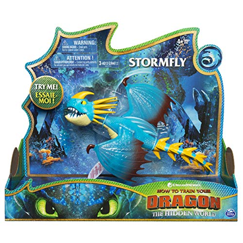 (Dreamworks Dragons, Stormfly Deluxe Dragon with Lights & Sounds, for Kids Aged 4 &)